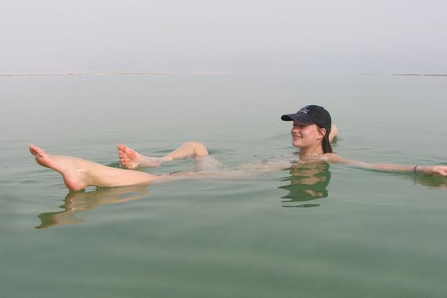 Солёное мёртвое море в Израиле