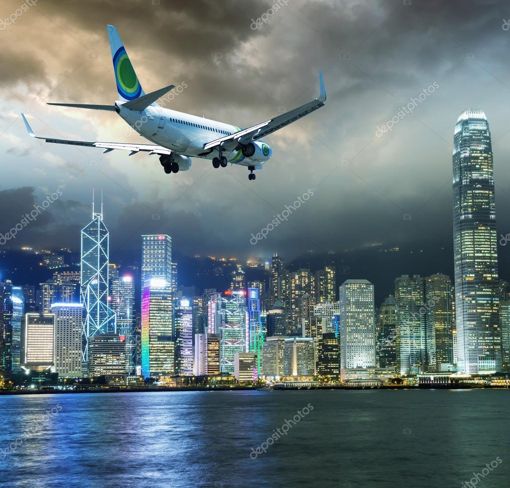Самолет на Гонконг