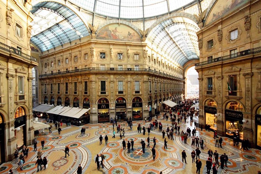 Торговая галерея Vittorio Emanuele II
