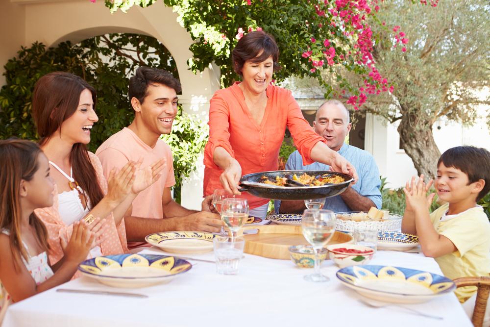 Родственники в Испании