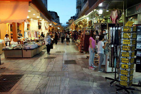 Центральный рынок Ираклиона