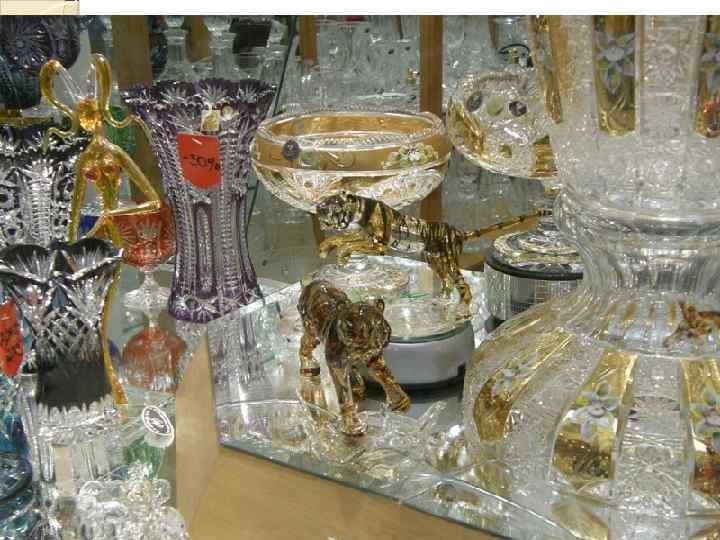 Фарфор и стекло из Чехии