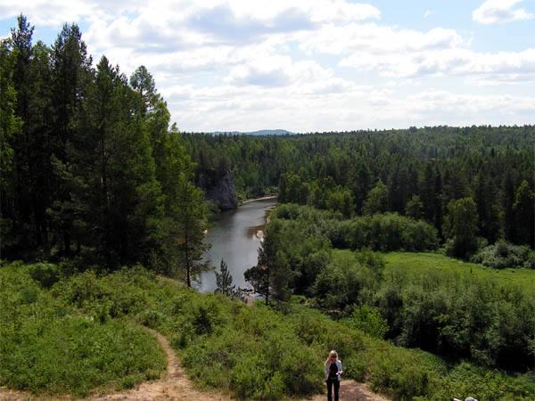 Оленьи ручьи летом
