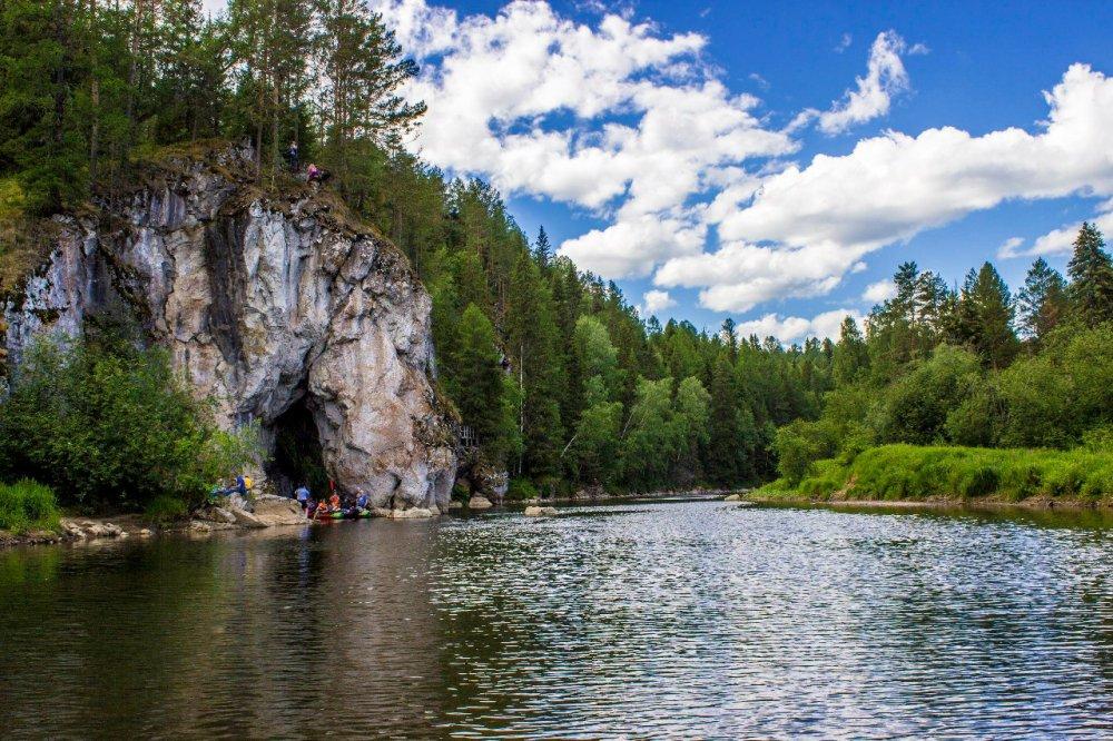 Оленьи ручьи, река Серга