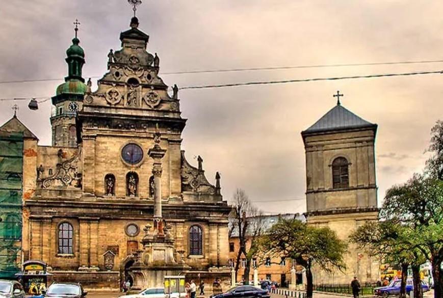 Бернардинский монастырь Украина
