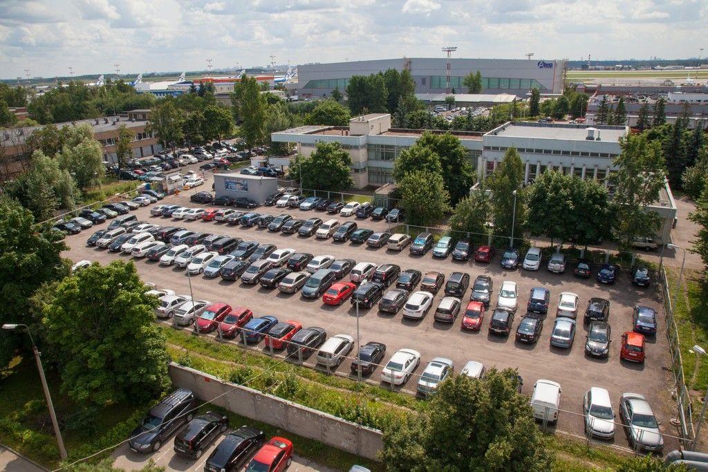 Длительная парковка в Шереметьево