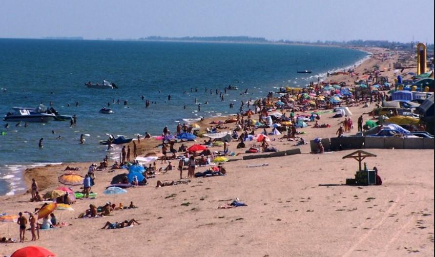 Пляжи в Геническе