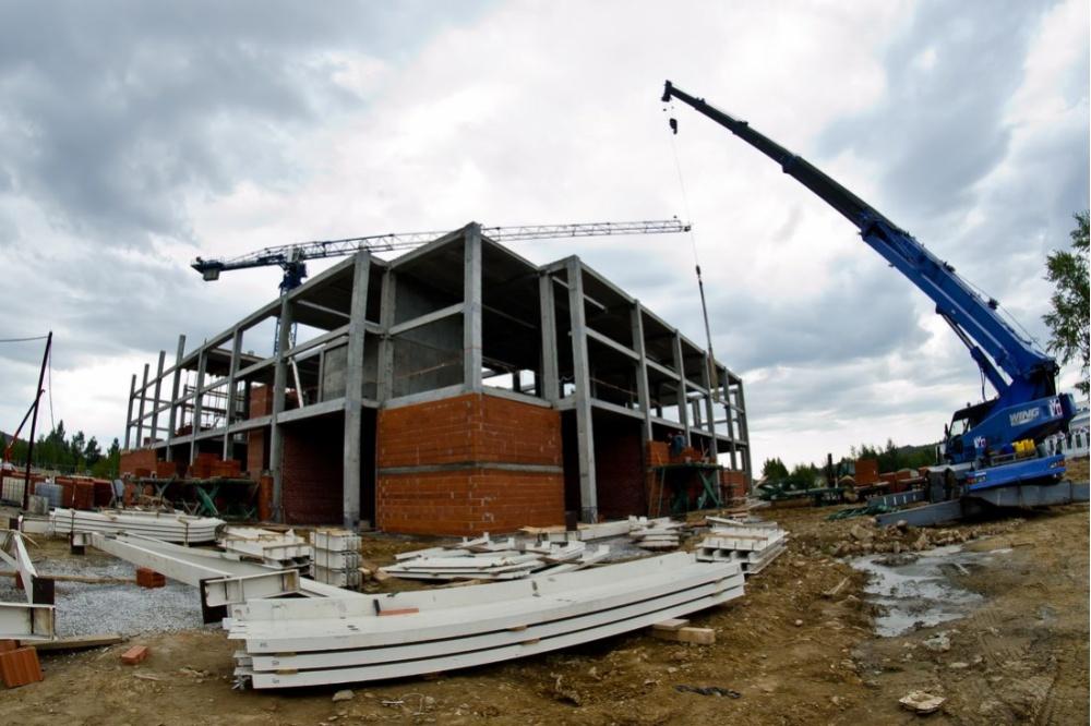 Строительство в Карабаше