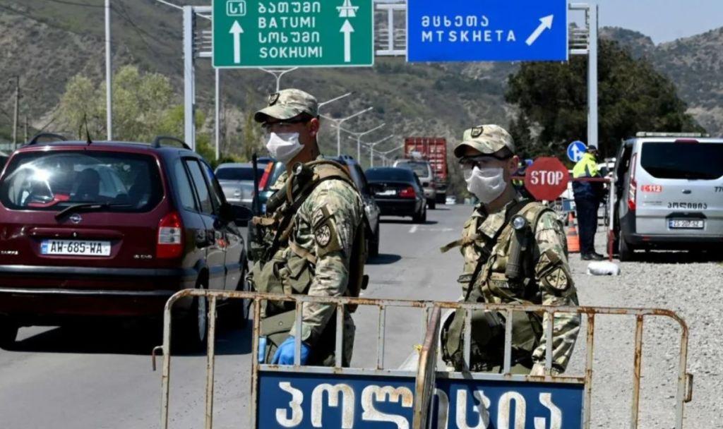 Граница с Грузией фото 3
