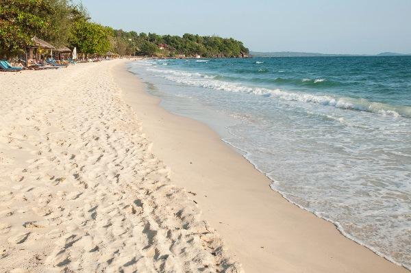 морское побережье Камбоджи