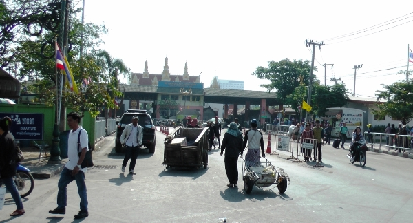 погранпереход Таиланд-Камбоджа