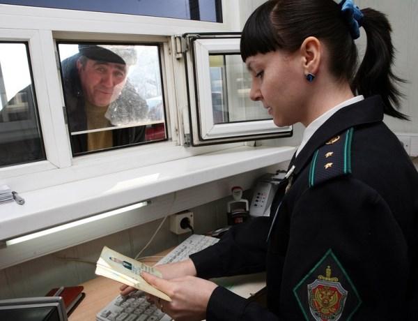 проверка документов на российской границе