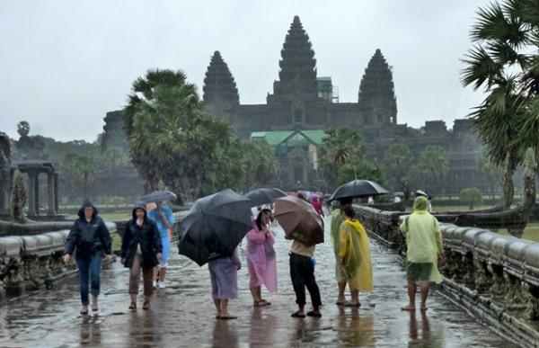 сезон дождей в Камбодже