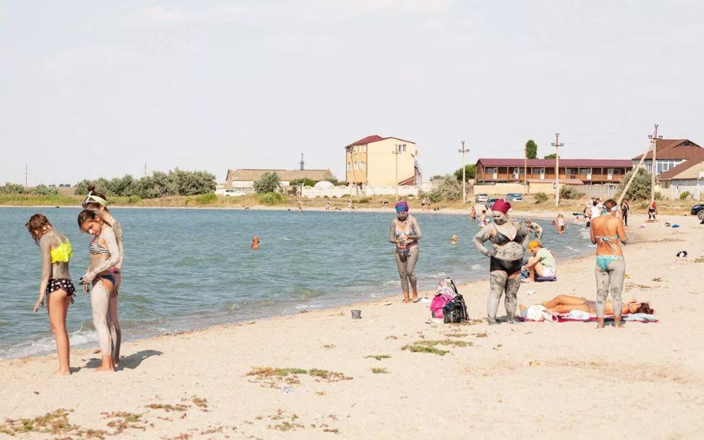 Лечебное озеро Ойбурское