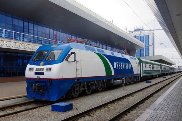 поезд Москва - Ташкент